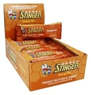 Honey Stinger - Energy Bar Peanut Butter N' Honey - 15 Bars
