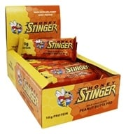 Honey Stinger - Protein Bar 10g Whey Protein Milk Chocolate Peanut Butta Pro - 15 Bars
