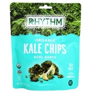 Rhythm Superfoods - Organic Kale Chips Raw Kool Ranch - 2 oz.