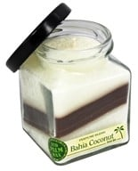 Aloha Bay - Eco Palm Wax Cube Jar Candle Bahia Coconut - 6 oz.