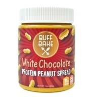 Buff Bake - Protein Peanut Spread White Chocolate 368 g. - 13 oz.