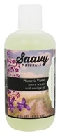 Saavy Naturals - Moringa Oil Body Wash Plumeria Violet - 8 oz.