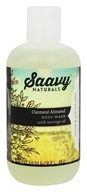 Saavy Naturals - Moringa Oil Body Wash Oatmeal Almond - 8 oz.