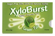 XyloBurst - Xylitol Chewing Gum Blister Pack Green Tea - 12 Piece(s)