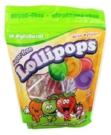XyloBurst - Sugar-Free Lollipops with Xylitol Assorted Fruit - 25 Lollipop(s)