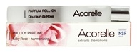 Acorelle - Roll-On Perfume Harmonizing Silky Rose - 0.33 oz.