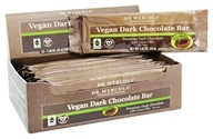 Dr. Mercola Premium Products - Vegan Dark Chocolate Bar with Cacao Nibs - 12 Bars