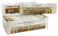 Dr. Mercola Premium Supplements - Vegan Dark Chocolate Bar with Almonds - 12 Bars