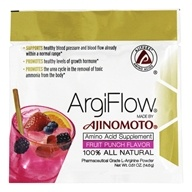 AjiPure - ArgiFlow 100% All Natural Amino Acid Supplement Fruit Punch Flavor - 0.51 oz.