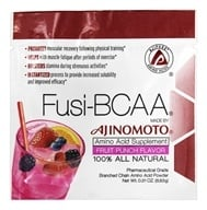 AjiPure - Fusi-BCAA 100% All Natural Amino Acid Supplement Fruit Punch Flavor - 0.31 oz.