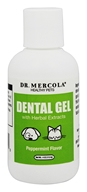 Dr. Mercola Premium Products - Dental Gel for Pets Peppermint Flavor - 4 oz.