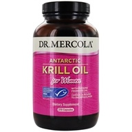 Dr. Mercola Premium Products - Krill Oil for Women - 270 Capsules