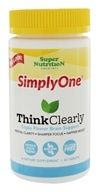 Super Nutrition - Simply One Think Clearly - 60 Tablets