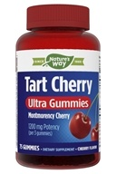 Enzymatic Therapy - Tart Cherry Ultra Gummies Cherry 1200 mg. - 75 Gummies