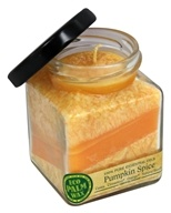 Aloha Bay - Eco Palm Wax Cube Jar Candle Pumpkin Spice - 6 oz.