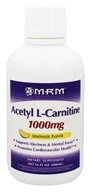 MRM - Acetyl L-Carnitine Liquid Lemonade 1000 mg. - 16 oz.