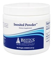 Biotics Research - Inositol Powder 5 g. - 8 oz.