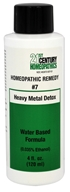Biotics Research - 21st Century Homeopathics Remedy #7 Heavy Metal Detox - 4 oz.