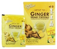 Prince of Peace - Instant Tea Ginger Honey Crystals with Lemon - 10 Sachet(s)