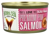 Natural Sea - Wild Alaska Premium Pink Salmon No Salt Added - 7.5 oz.