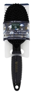 Earth Therapeutics - Silicone Si Softgrip Grooming Brush Black