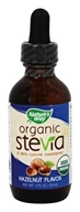 Nature's Way - Organic Stevia Hazelnut Flavor - 2 oz.