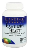 Planetary Herbals - Hawthorn Heart 900 mg. - 60 Tablets
