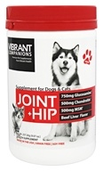 Vibrant Health - Joint + Hip Supplement for Dogs & Cats Beef Liver Flavor - 257.26 Grams