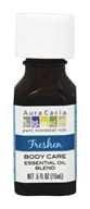 Aura Cacia - Essential Oil Blend Freshen Body Care - 0.5 oz.