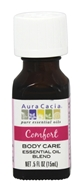 Aura Cacia - Essential Oil Blend Comfort Body Care - 0.5 oz.