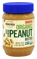 Woodstock Farms - Organic Easy Spread Peanut Butter Smooth - 18 oz.