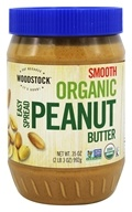 Woodstock Farms - Organic Easy Spread Peanut Butter Smooth - 35 oz.