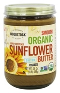 Woodstock Farms - Organic Sunflower Butter Lightly Sweetened and Salted - 16 oz.