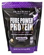Dr. Mercola Premium Products - Pure Power Protein Vanilla - 31 oz.