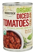 Woodstock Farms - Organic Diced Tomatoes Italian Herbs - 14.5 oz.