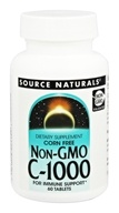 Source Naturals - C1000 Corn Free Non-GMO 1000 mg. - 60 Tablets