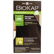 BioKap - Nutricolor Delicato Permanent Hair Dye 4.0 Natural Brown - 4.67 oz.
