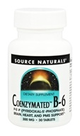 Source Naturals - Coenzymated B-6 300 mg. - 30 Tablets