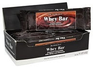 Dr. Mercola Premium Products - Whey Bar Premium Chocolate with Whey and Almonds - 12 Bars