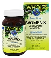 Whole Earth & Sea - Pure Food Women's Multivitamin & Mineral - ...