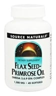 Source Naturals - Flax Seed-Primrose Oil 1300 mg. - 45 Softgels