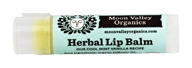 Moon Valley Organics - Herbal Lip Balm Mint Vanilla - 0.15 oz.