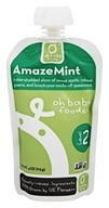 Oh Baby Foods - Level 2 Baby Food AmazeMint - 4 oz.