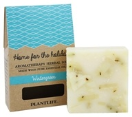 Plantlife Natural Body Care - Aromatherapy Herbal Bar Soap Wintergreen - 4.5 oz.