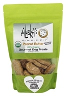 Alaska's Bakery - 100% Organic Gourmet Dog Treats Peanut Butter - 6 oz.