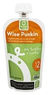 Oh Baby Foods - Level 2 Baby Food Wise Punkin - 4 oz.