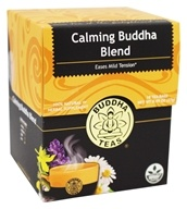 Buddha Teas - Wild Harvest Herbal Tea Calming Buddha Blend - 18 Tea Bags