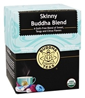 Buddha Teas - 100% Organic Herbal Tea Skinny Buddha Blend - 18 Tea Bags