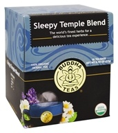 Buddha Teas - 100% Organic Herbal Tea Sleepy Temple Blend - 18 Tea Bags