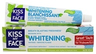 Kiss My Face - Whitening Toothpaste Gel Fluoride Free Cool Mint - 4.5 oz.